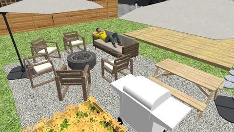 Yard 2 - Garden  - by SarahanneHolli
