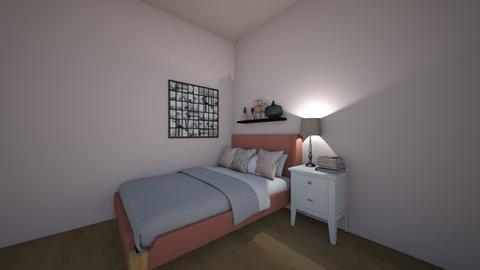 teenage girl pink bedroom - Feminine - Bedroom  - by Anyagrgic