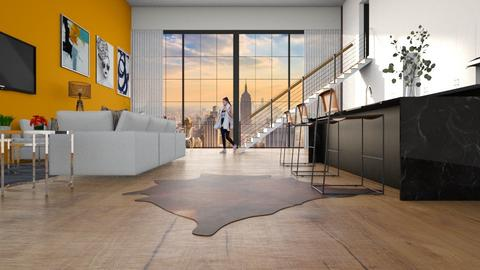 City Loft - Modern - by Qeela Van Wyk