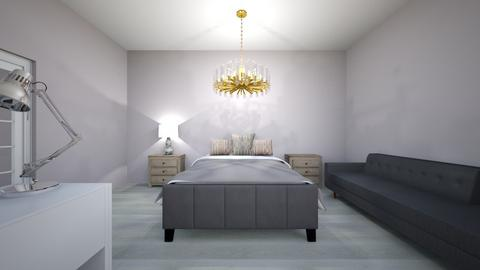 Bedrooms - Glamour - Bedroom - by Gabrielle Domond