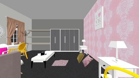 hanna bedroom - Bedroom - by Star98
