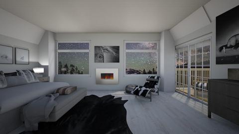 Night bedroom - by MoxieCreative