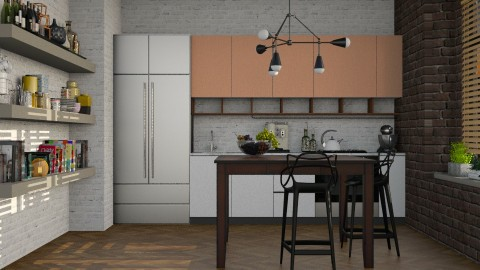 Loft  - Modern - Kitchen  - by katarina_petakovi