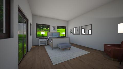 Master bedroom - Bedroom - by azzieflowers