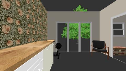 aanbouw zonder hal - Kids room  - by aniquevanbeek