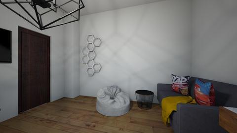 boy room - Bedroom - by EmaChocholackova