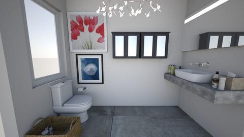 Nanas Bathroom Renovation - Modern - by cbruno23