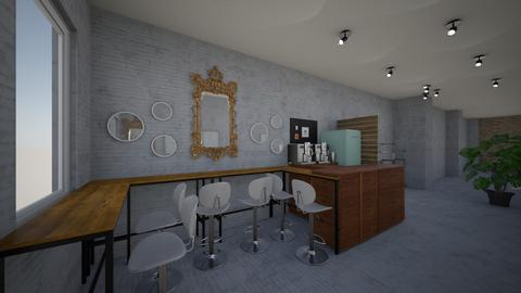 Cafe China town v4 - Office  - by Julia Nick