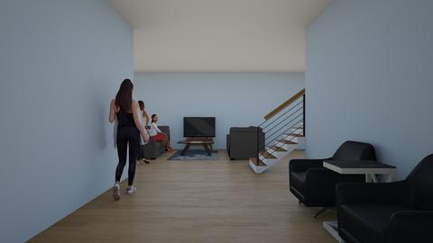 Hallway_Living Room  - by artsy_naturelover