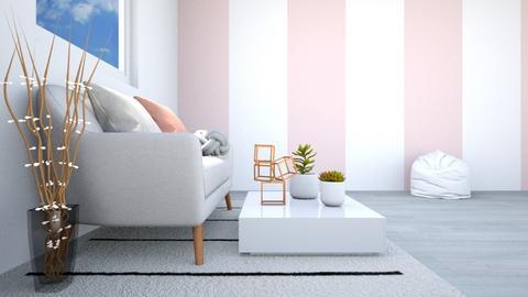 Hmmmm - Living room - by Vanessa Aubrey