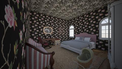 Sam - Vintage - Bedroom  - by kittytarg