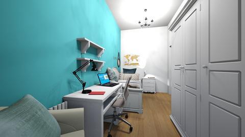 habitacio Sara - Modern - Bedroom - by saraortiz