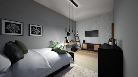 emo classy - Modern - Bedroom  - by kat587494