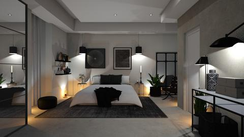 Black meets white edition - Bedroom  - by zarky