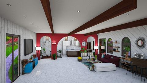 Bohemia - Vintage - Living room  - by kellynazha