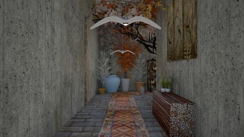 urban jungle hallway 222 - Modern - by decordiva1