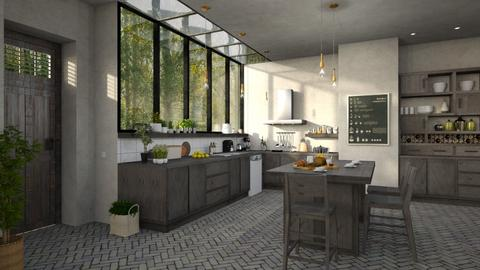 607 - Rustic - Kitchen  - by Claudia Correia
