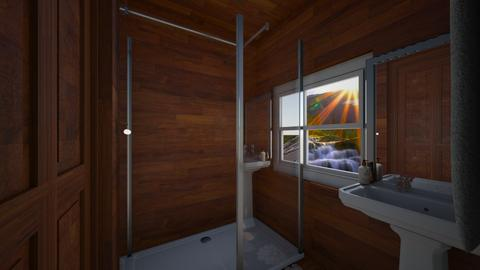 prysznic - Bathroom  - by Ironek