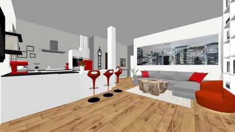 Nancy  - Kitchen  - by beatrice01