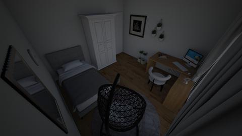 moj pokoj v2 ten pierwszy - Bedroom  - by wagoon2