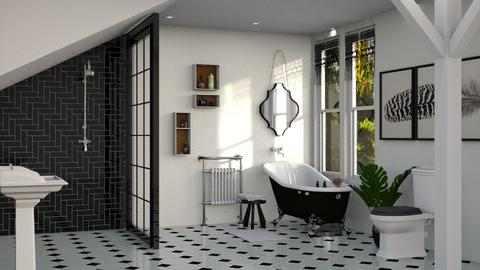 wc - Bathroom  - by soralobo