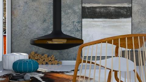 Comfy - Minimal - Living room  - by HenkRetro1960