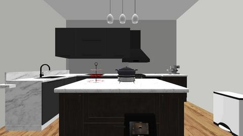 interior design - Kitchen  - by mysterstevenson