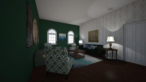 Green - Masculine - Living room - by Thomas Wayne Broyles