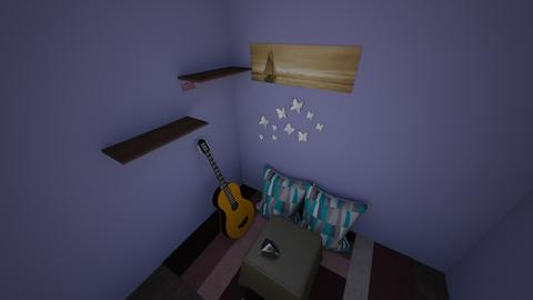 hehe - Bedroom  - by medinaclark91