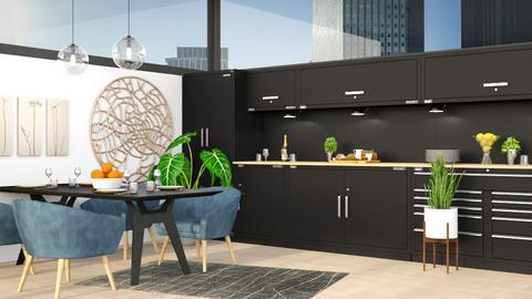 Modern Kitchen - Modern - Kitchen  - by millerfam