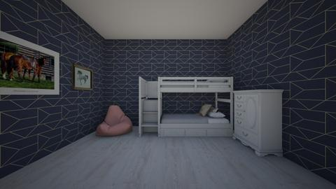 kids cosy bedroom - Kids room  - by Stag