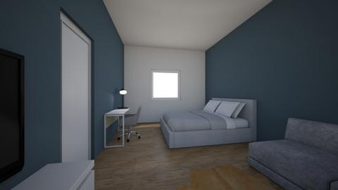 Michelle van Kuler zolder - Bedroom - by Michelledgraaf