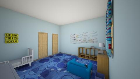 Nate_s Room5 - Kids room - by Robacki
