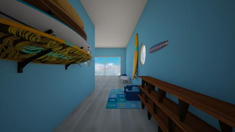 surf cultured hallway - Modern - by WillSmith089