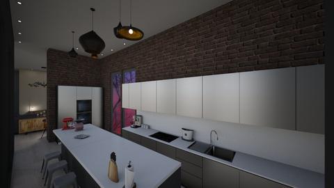 Manish Kitchen - Kitchen - by Shuu Dark