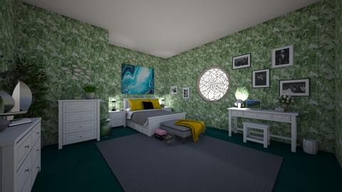 In The Green - Feminine - Bedroom  - by Irishrose58