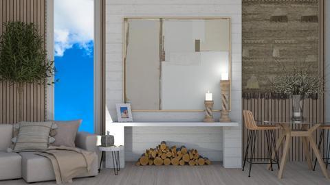 boho living - Living room  - by MillieTZ