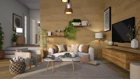 435 - Modern - Living room  - by Claudia Correia