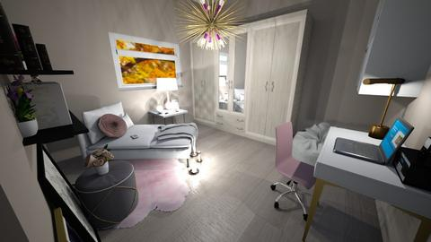 Small Bedroom 27 - Bedroom  - by Khayla Simpson