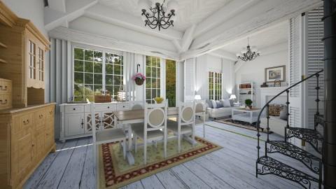 Cabana - Living room  - by Roberta Coelho