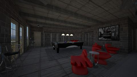23549jd basement gameroom - by emipinky1996