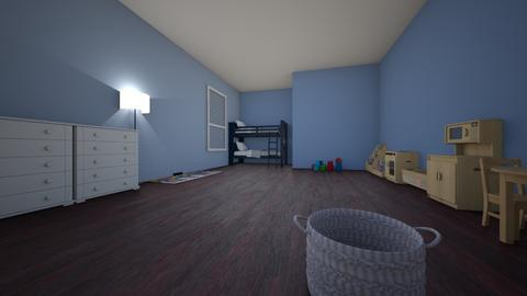 Maria Reeds 3D Room - Kids room  - by Maria2008