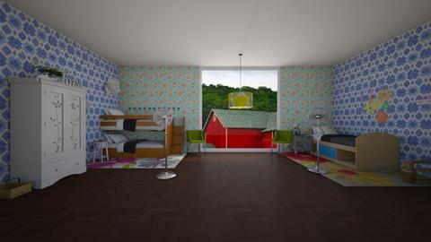 Cabin - Bedroom  - by 29catsRcool