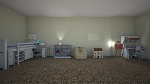 kids boy room   - Kids room - by emilyz