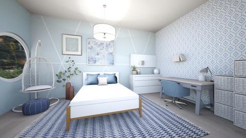 blueguestcoastalbedroom - Bedroom  - by tahliawaters