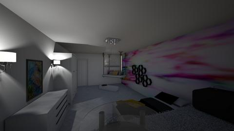 Teen Room - Glamour - Bedroom  - by Khayla Simpson
