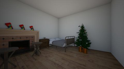 Christmas bedroom - Bedroom - by puf