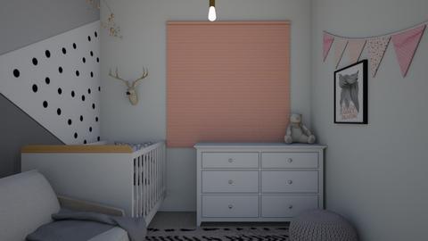baby room_170621 - Kids room  - by Sefi Zohar