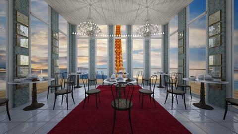 Tea Palace - Glamour - Dining room  - by Drama Llama