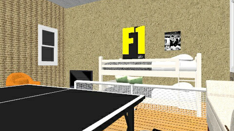 Tennis Fan room - Retro - Kids room  - by The12thDoctor